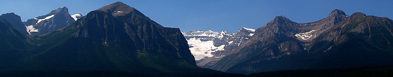 The Rocky Mountains of Canada, Victoria Glacier
